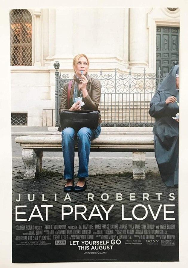 Travel Realizations, Italy, India, Bali, Eat Pray Love