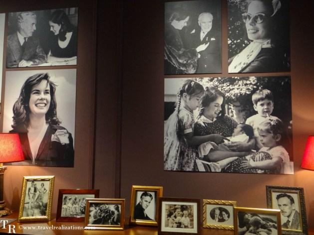 Charlie Chaplin house in Switzerland, Chaplin's world, Travel Realizations, OONA O'NEIL CHAPLIN