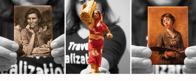 Celebrating Women - A Montage of Travel Souvenirs!
