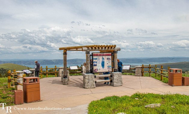 Salt Lake City to Yellowstone - A road trip guide, Travel Realizations Bear Lake overlook