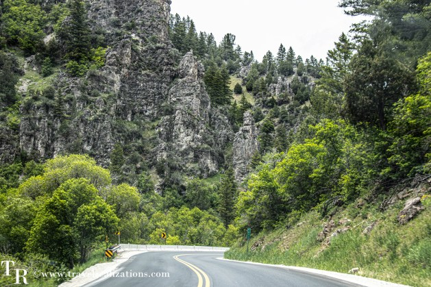 Salt Lake City to Yellowstone - A road trip guide, Travel Realizations, Logan Canyon scenic byway
