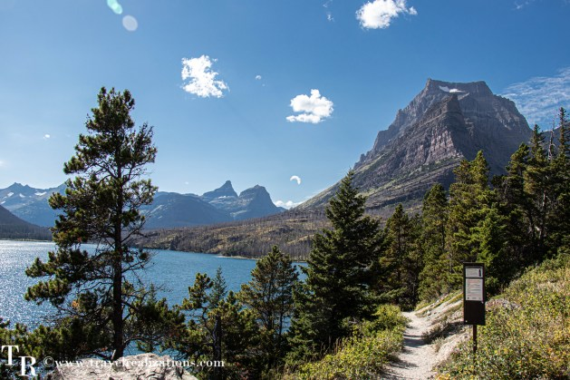 Glacier National Park - A travel guide, Travel Realizations, Sun Point Nature Trail