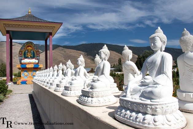 Travel Realizations, Garden of One Thousand Buddhas