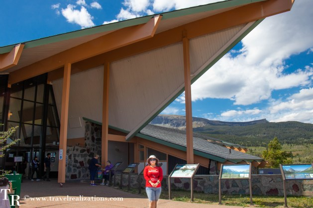 Glacier National Park - A travel guide, Travel Realizations, Saint Mary Visitor Center