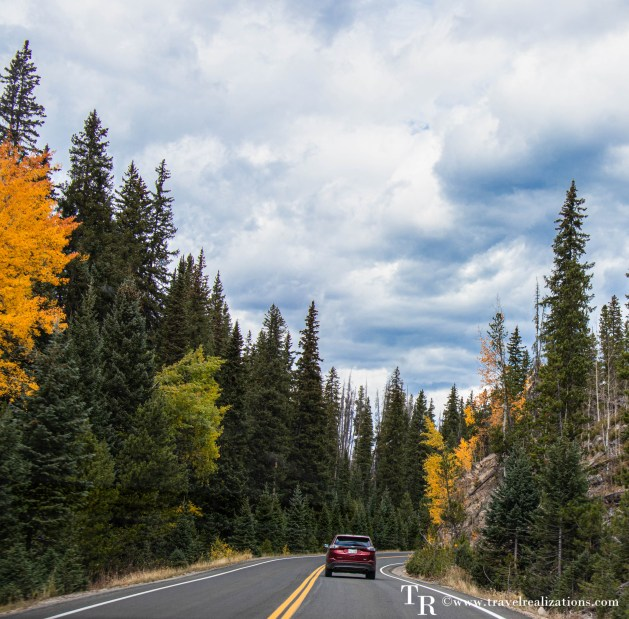 Fall colors in Rocky Mountain National Park, Travel Realizations