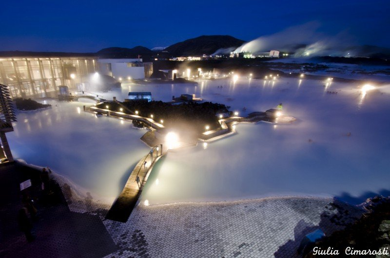 The Blue Lagoon by night