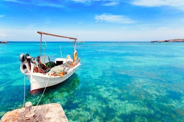 Els Pujols beach Formentera