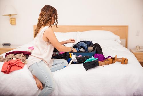 Avoid over packing