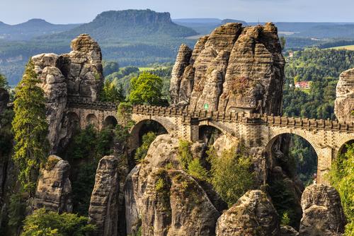 Bastei bridge, Germany