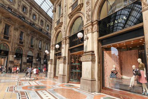 Milan Designer Shopping