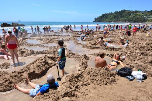 Mercury Bay Beach, NZ