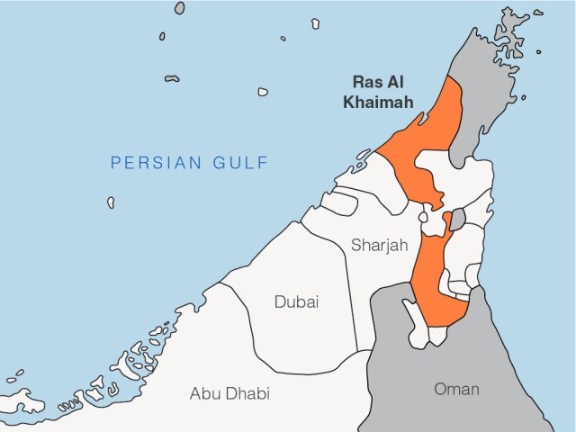 RAK Map