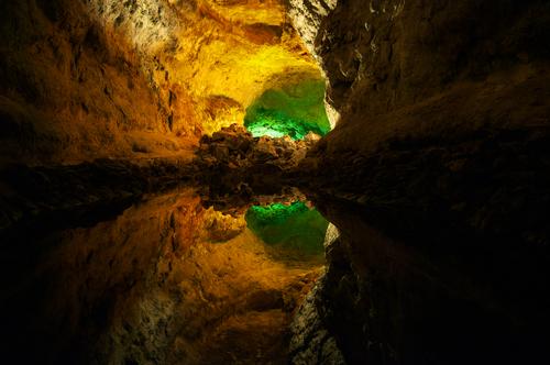 Cueva De Los Verdes Green Cave Lanzarote