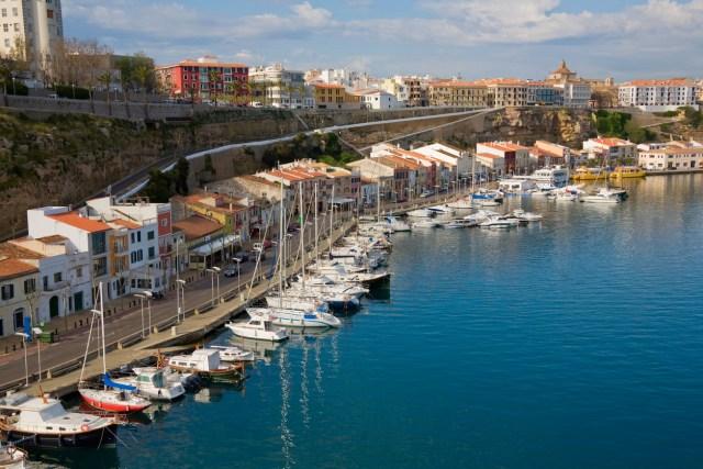 Mahon Menorca Spain HarborSee My Mediterranean Lightbox: