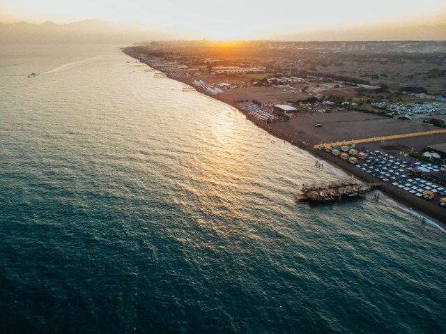 Lara Beach, Turkey