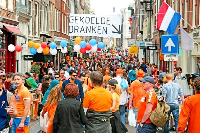 Amsterdam, Kings Day