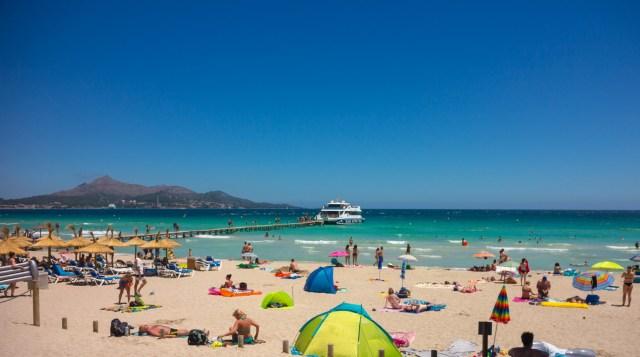 Playa de Muro, Majorca