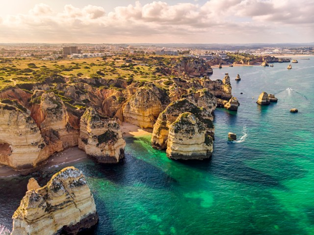 Ponta da Piedade Cliffs, Algarve, Portugal