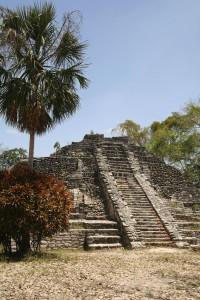 Chacchoben Mayan ruins in Mexico