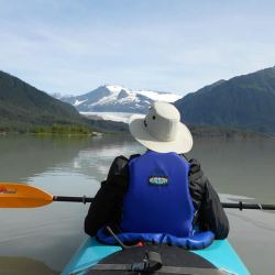 mendenhall Glacier by Kayak
