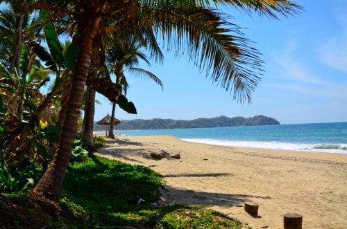 North end of Sayulita Beach