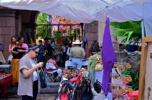 Blog- artisan faire was held at the Instituto de Allende