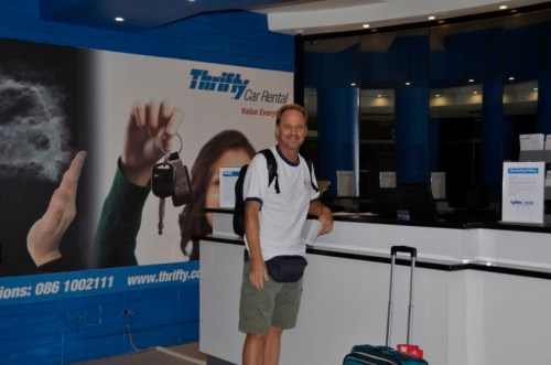 Thrifty rental jo-burg airport
