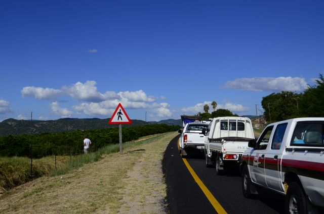 Driving to Marloth Park