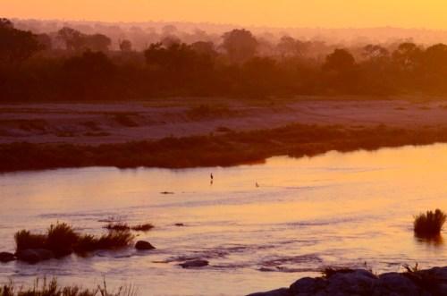 Sunrise on Crocodiile River Marloth Park