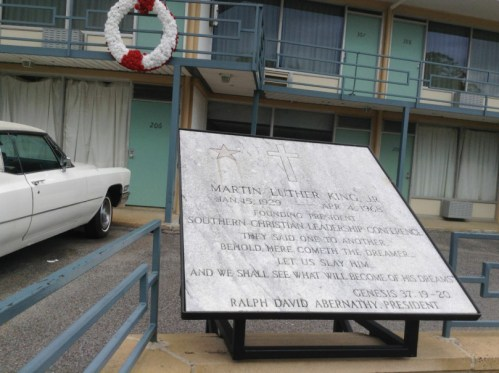 Martin Luther King Memorial at Lorraine Hotel