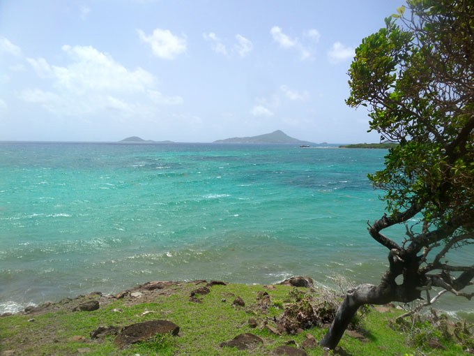 North of Carriacou backpacking in grenada