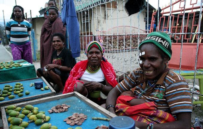 gente wamena Valle de Baliem