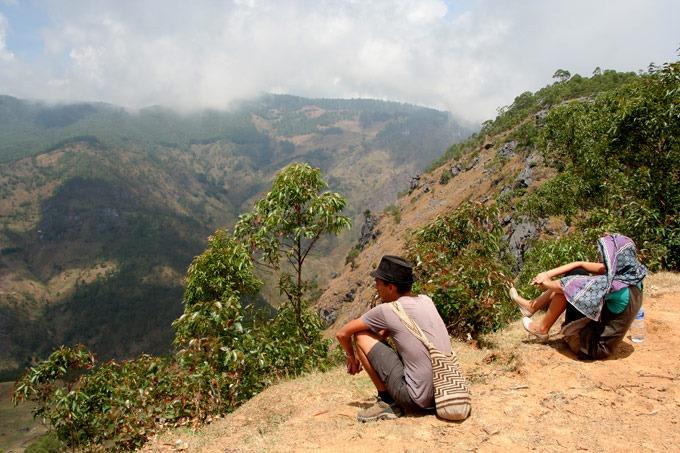 mount ramelau views trek