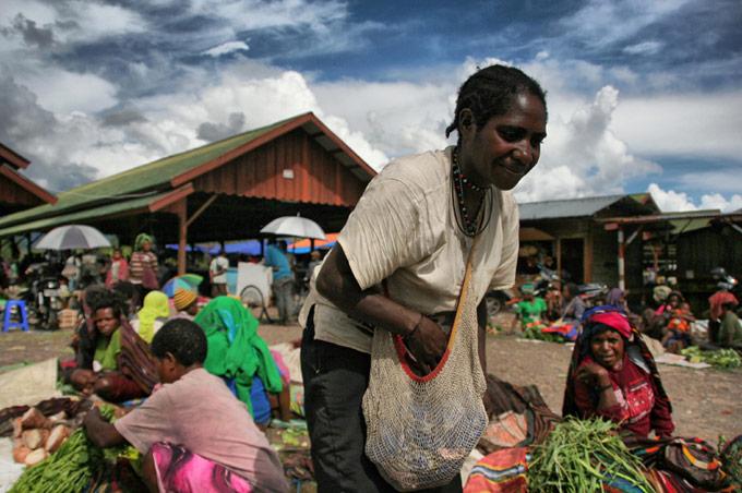 market papua wamena Hiking the Baliem Valley on a budget