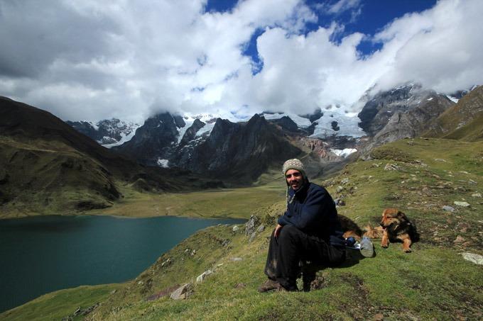 lake carhuacocha peru Trekking the Huayhuash circuit on a budget