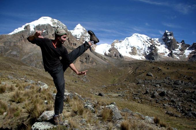 Trekking the Huayhuash circuit on a budget