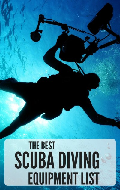 best scuba diving equipment list