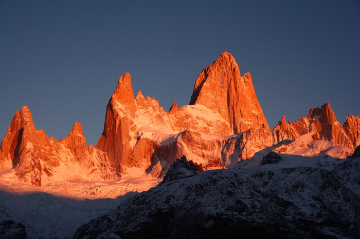 Trekking del Fitz Roy y Cerro Torre