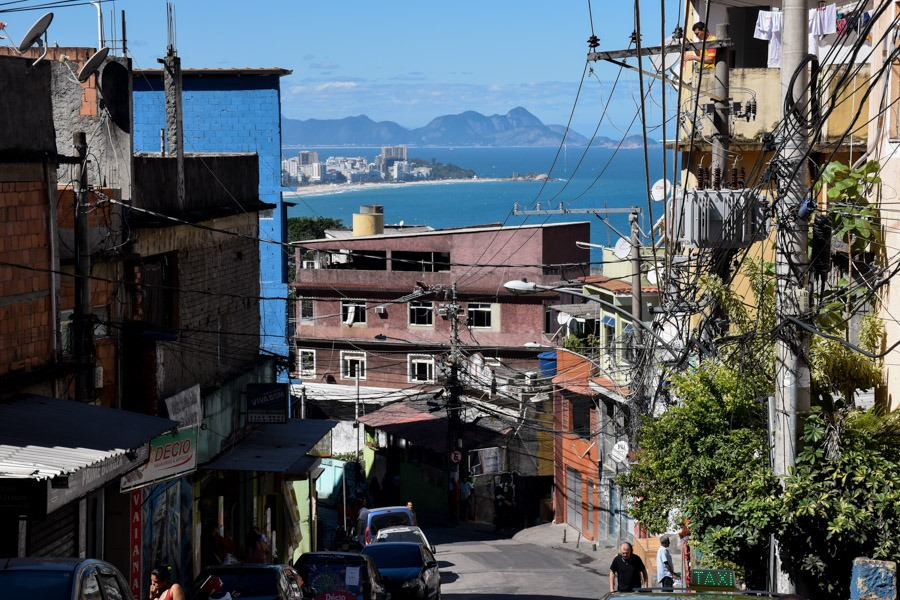 living in a favela