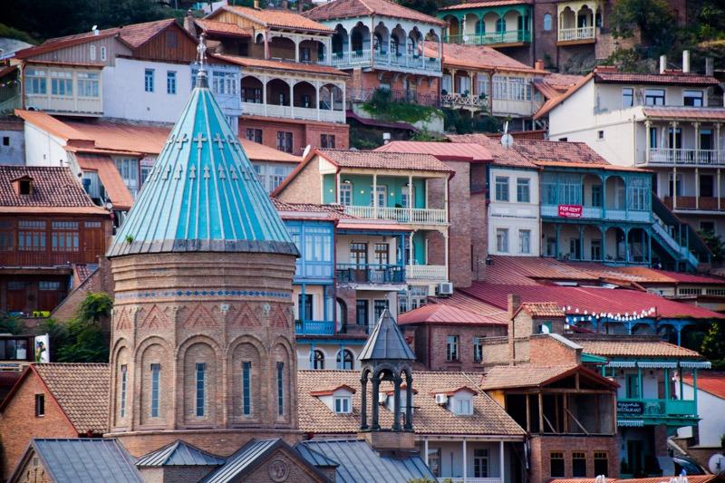 Tbilisi old quarter