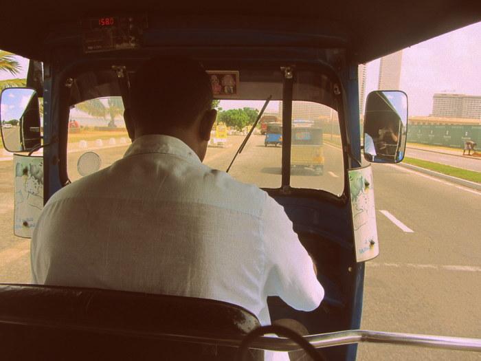 Sri Lanka tuk-tuk driver