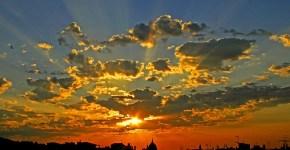 Sunrise Over Barcelona