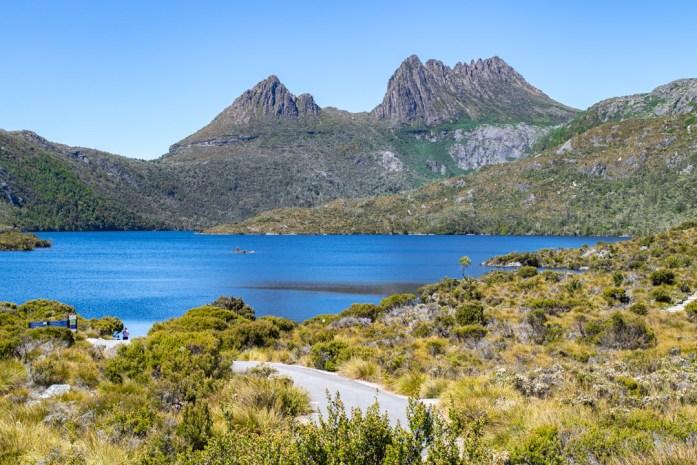 Dove Lake Cradle Mountain, Northern Tasmania