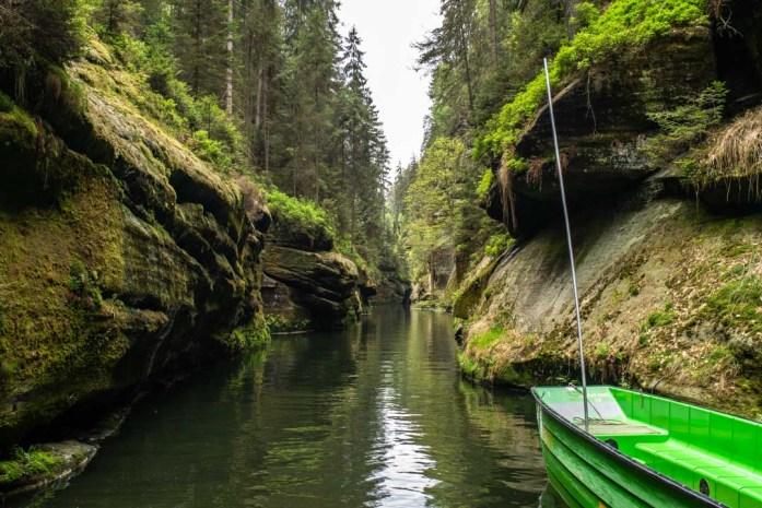 Edmund's Wild Gorge, Bohemian Switzerland National Park