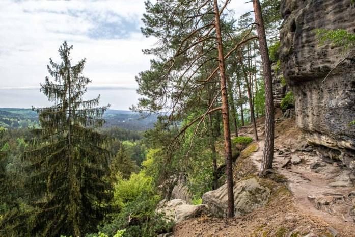 Hiking in Bohemian Switzerland Czech Republic