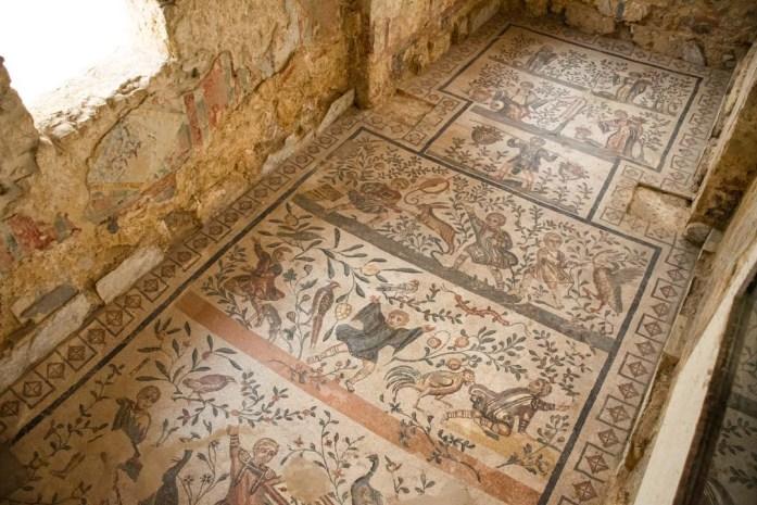 Villa Romana del Casale Sicily