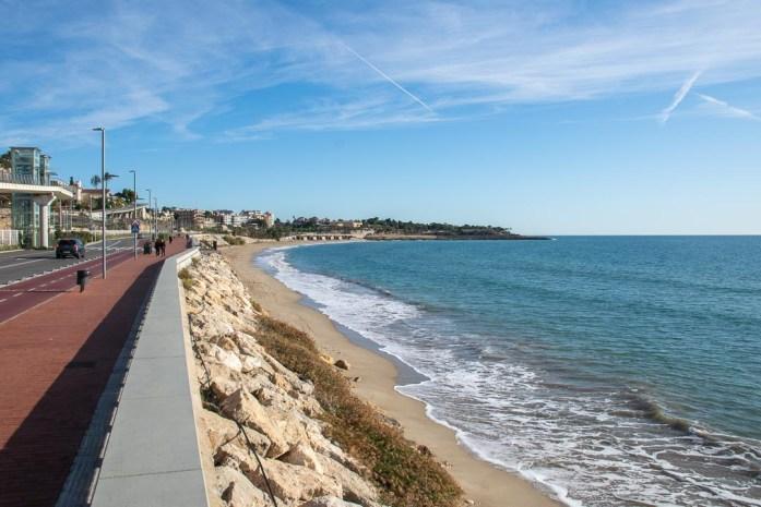 Playas Tarragona Catalonia