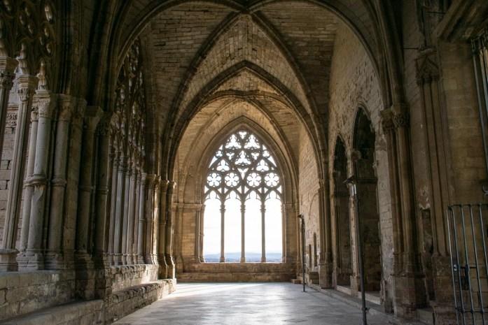 Lleida Cathedral, visiting Lleida Catalonia