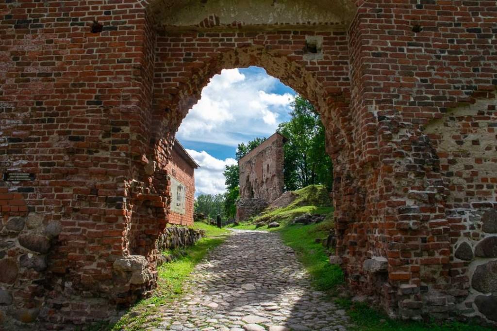 Visiting Viljandi Castle