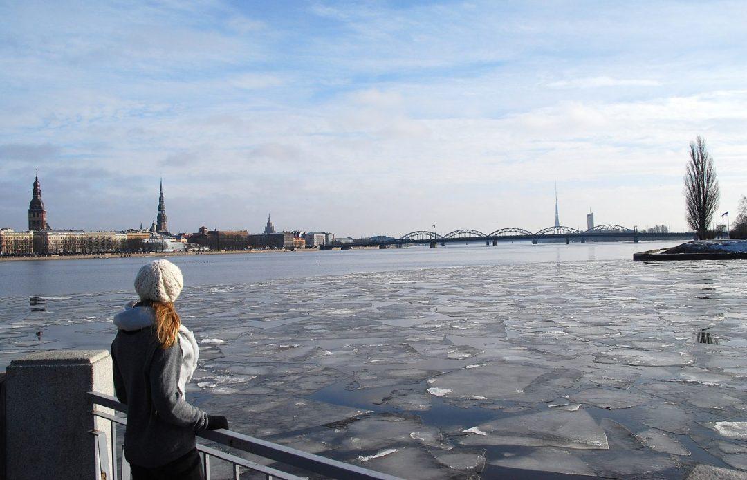 Riga view, uitzicht